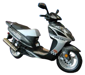 Strada 200HP gas scooter