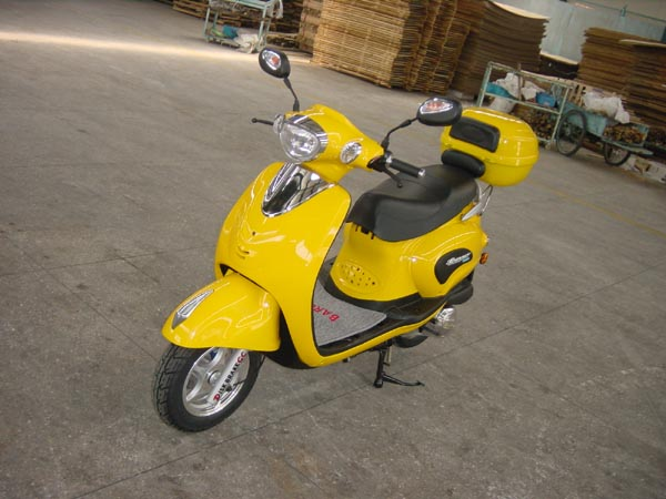 Gas powered scooters from Baron, these reliable and