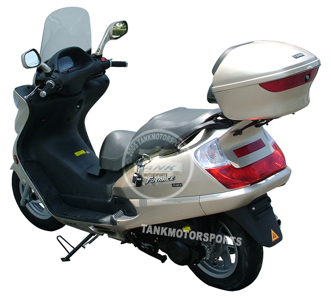 Tank Gas Scooters Are One Of The Better Known Quality Scooters On