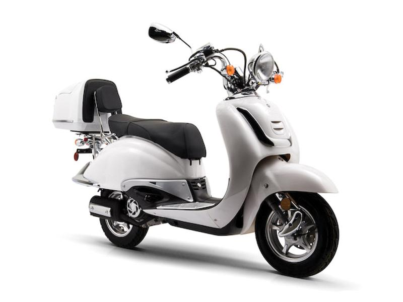 Blazer Pro Fixed Scooter Evolution White Stunt Scooter Complete