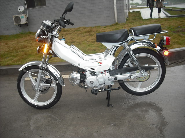 4 Stroke Moped With Pedals Autos Post