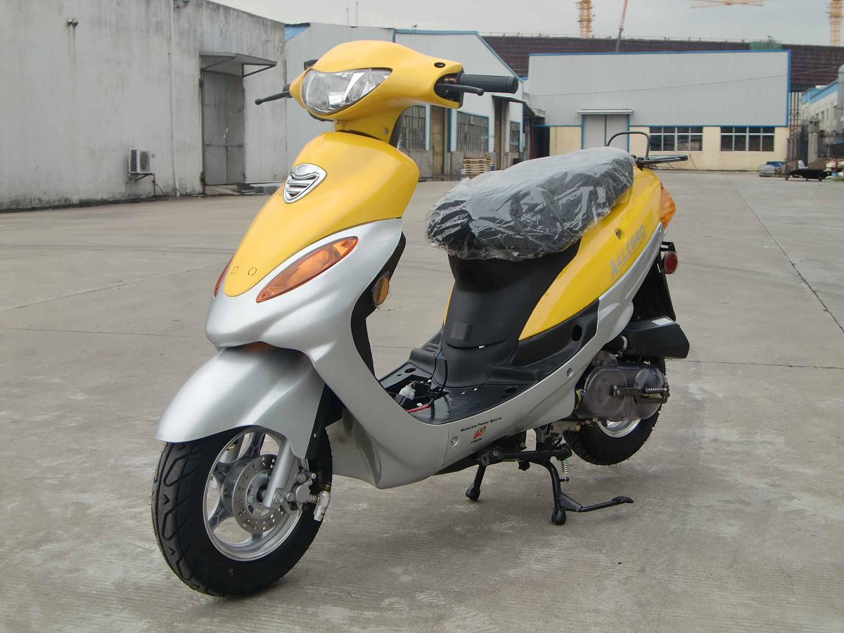 Motorino Gas Powered Turbo 50cc Scooters Brings You The Allegro Geely Scooter Wiring Diagram So Design Of Front Hood And Signal Lights Is Slightly Different