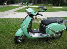 Riviera 150cc scooter by ZNEN