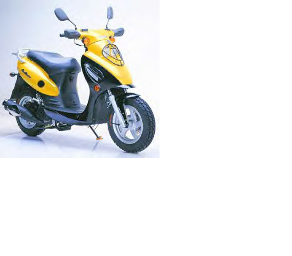Geely/Jalon X-1 scooter, Jalon scooters, Geely scooters, gas scooters